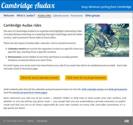 Cambridge audax