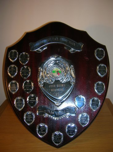 John Brown Memorial Team Shield